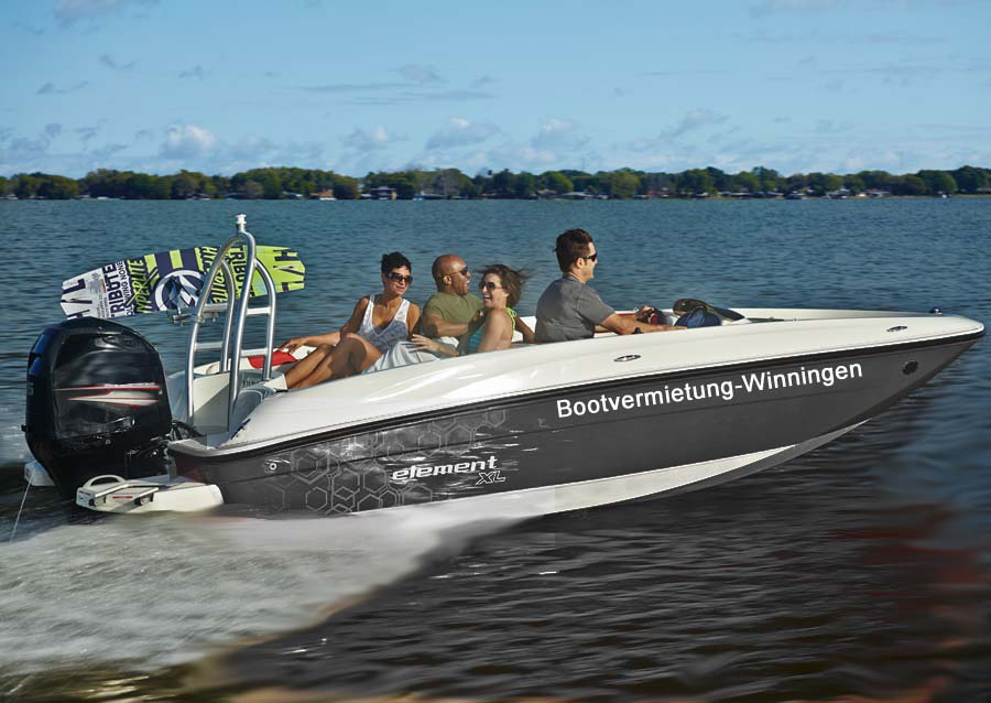 Bayliner Element XL - Bootverleih Mosel in Winningen Charterboote